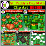 St Patricks Day Clipart Math and Counting Clip Art BUNDLE