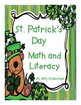 Kindergarten St. Patrick's Day Math and Literacy