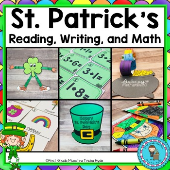 St. Patrick's Day Math and Literacy Activities