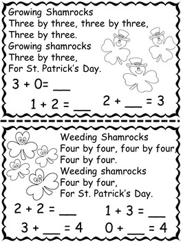 St. Patrick's Day Math and Literacy Activities For K-2