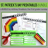 St. Patrick's Day Math and Literacy BUNDLE