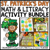 St. Patrick's Day Math and Literacy Bundle for Preschool