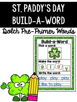St. Patrick's Day Math and Literacy Centers {Kindergarten}