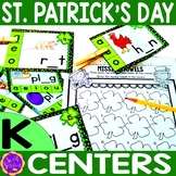 St. Patrick's Day Centers for Math and Literacy