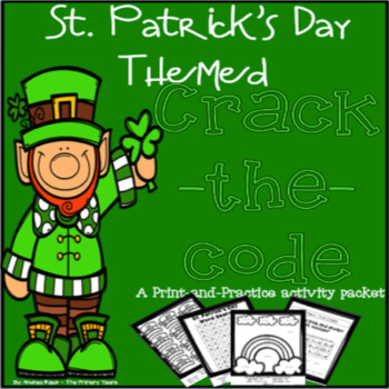 St. Patrick's Day Math and Literacy Packet - Print & Practice