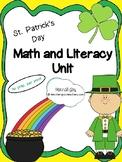 St. Patrick's Day Math and Literacy Unit