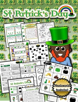 St. Patrick's Day Activity Set