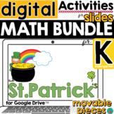 St Patrick's Day Math for Google Slides ™ for Kindergarten