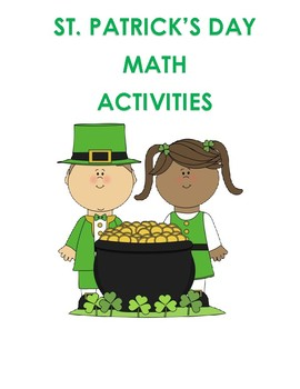 St. Patrick's Day Math for K-2