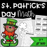 St. Patrick's Day Math for March - 3rd Grade Common Core