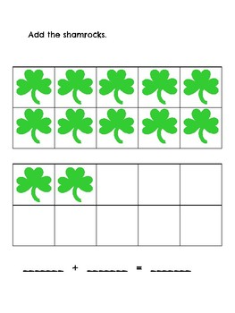 St. Patrick's Day Math for Primary