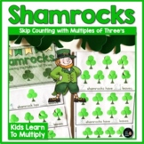 St. Patrick's Day Math Activity  Shamrocks and Multiples of 3