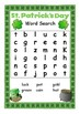 St. Patrick's Day Maths and Literacy Worksheets- Kindergarten