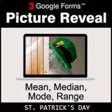 St. Patrick's Day: Mean, Median, Mode, Range - Google Form