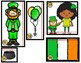 St. Patrick's Day Measurement Scoot-Nonstandard /Measuring to the Nearest Inch