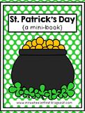 First Grade Mini Book: St. Patrick's Day