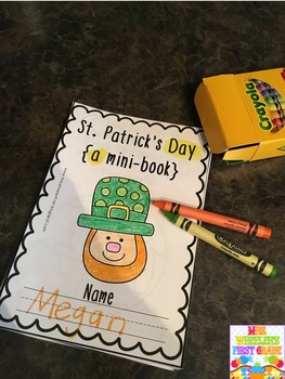 First Grade Mini Book: St. Patrick's Day