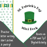 March St. Patrick's Day Mini Book Poetry History Language
