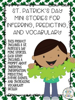 St. Patrick's Day Mini Stories for Inferring, Predicting, and Vocabulary
