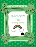 St. Patrick's Day Missing Addends