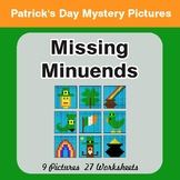 St. Patrick's Day: Missing Minuends - Color-By-Number Myst