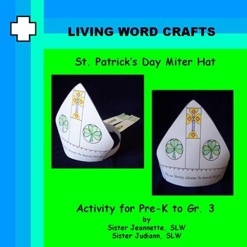 St. Patrick's Day Miter Hat for Pre-K to Gr. 3