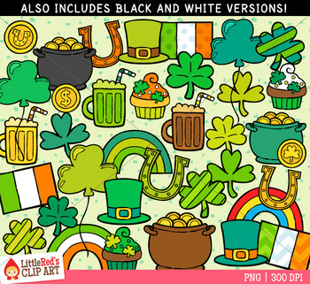 St. Patrick's Day Mix Clip Art