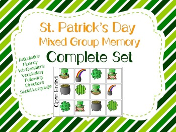 #marchslpmusthave St. Patrick's Day Mixed Group Memory - Complete Set!
