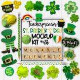 St. Patrick's Day Mockups | Teacherpreneur Mockup | Create