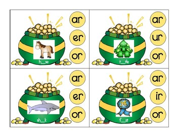 St Patrick's Day Modified Vowels and Diphthongs