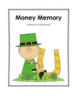 St. Patrick's Day Money Memory Game
