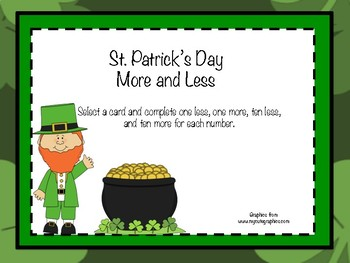 St. Patrick's Day More and Less