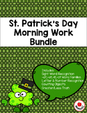 St. Patrick's Day Morning Work Bundle