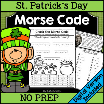 St. Patrick's Day Morse Code