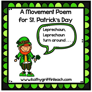 St. Patrick's Day Movement Poem