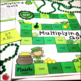 St. Patrick's Day Multi-Digit Multiplication Math Centers