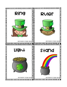 St. Patrick's Day Multiple Meaning Words