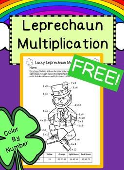 St. Patrick's Day Multiplication