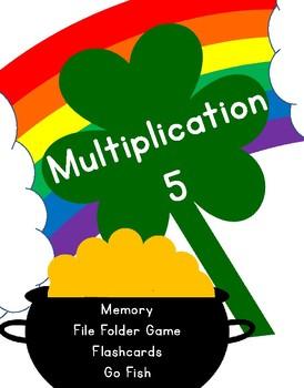St. Patrick's Day Multiplication 5