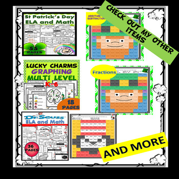 St Patrick's Day Multiplication & Division