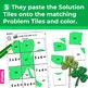 St. Patrick's Day Multiplication Facts Worksheets   Secret Picture Tiles