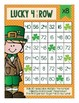 St. Patrick's Day Multiplication Four In a Row Game