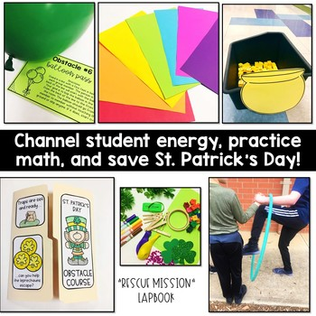 St. Patrick's Day Multiplication Obstacle Course