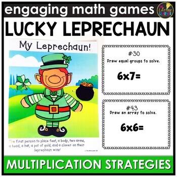 Saint Patrick's Day Multiplication Strategies Game