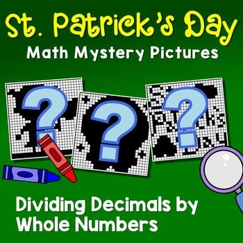 St. Patrick's Day Dividing Decimals by Whole Number