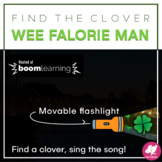 St. Patrick's Day Music Flashlight Game: Wee Falorie Man - BOOM CARDS