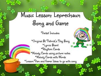 St. Patrick's Day Music Lesson: Leprechaun Song and Game