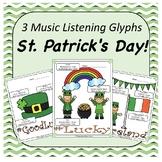 St. Patrick's Day Music Listening Glyphs