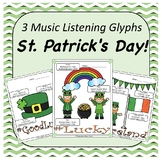St. Patrick's Day Music Listening Glyphs
