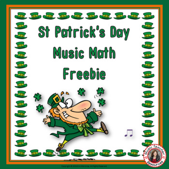 Music Math for St Patrick's Day: Free Music Download: